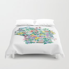 Wisconsin Wildflowers Duvet Cover