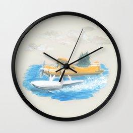DH Beaver Wall Clock