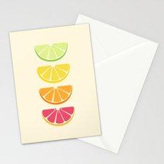 Half Citrus Stationery Cards