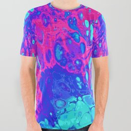 Psychodelic Dream All Over Graphic Tee