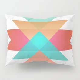 Geometric abstract indigenous symbol Pillow Sham