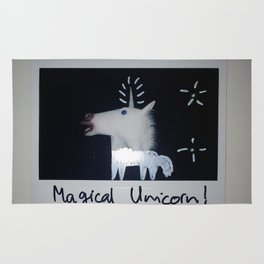 Magical Unicorn! Rug