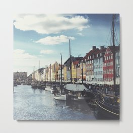 Nyhavn Copenhagen Metal Print