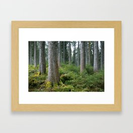 Between me and you. Framed Art Print