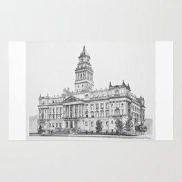 Wayne County Court House | Detroit Michigan Rug