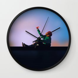 Spring Day - J-hope (Hoseok) BTS Wall Clock
