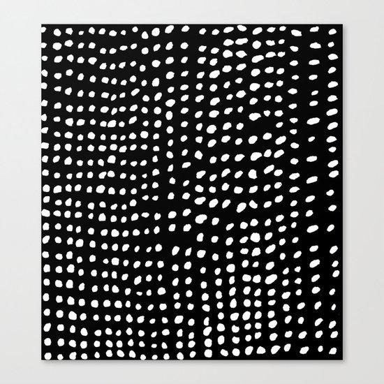 Dots Canvas Print