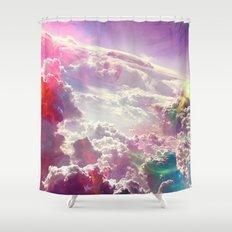 Clouds #galaxy Shower Curtain