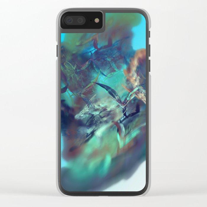 Dream World Clear iPhone Case