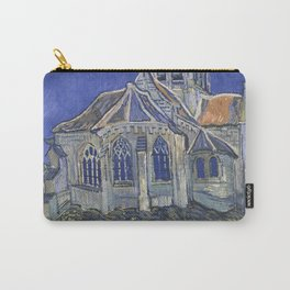 Vincent Van Gogh - The Church in Auvers-sur-Oise, View from the Chevet 1890 Carry-All Pouch
