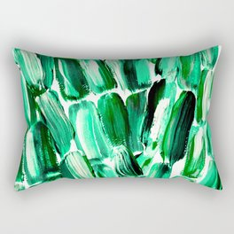 Green Sugarcane, Unripe Rectangular Pillow