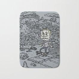 Manual pad Bath Mat