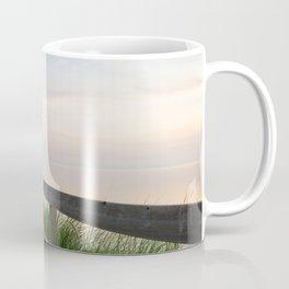 Walking in a Postcard Coffee Mug