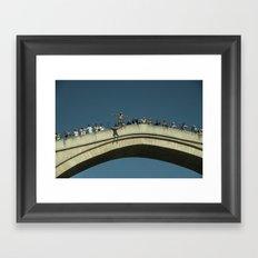 Mostar Jumper  Framed Art Print
