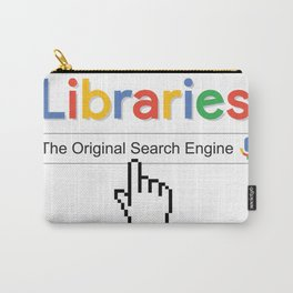 Libraries the origina Carry-All Pouch