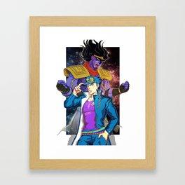 JoStar - JOJO'S BIZARRE ADVENTURE Framed Art Print