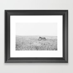 into the wild::kenya Framed Art Print