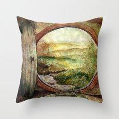 The World is Ahead Throw Pillow