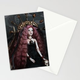 Talarah in goth Stationery Cards