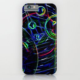 Abstract perfektion 85 iPhone Case