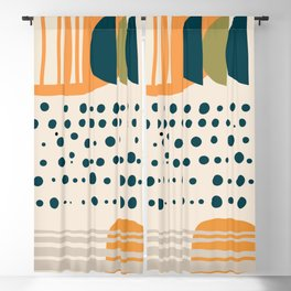 Abstract Shape 5 Blackout Curtain