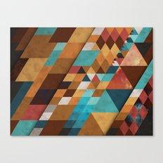 Geometric Positivity Canvas Print