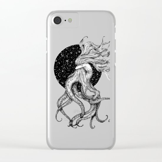Young Ursula Clear iPhone Case
