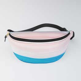 Sunset on the sea Fanny Pack