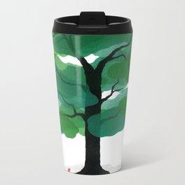 Man & Nature - The Tree of Life Metal Travel Mug