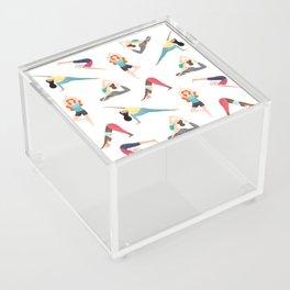 Yoga Pattern Acrylic Box