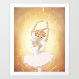 Princess Tutu Art Print