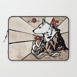 Wolf Ukiyo-e Laptop Sleeve