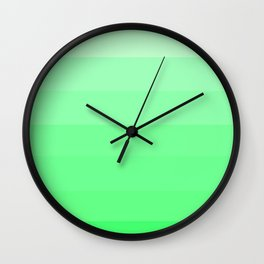 Jeweled Sea - Color Therapy Wall Clock