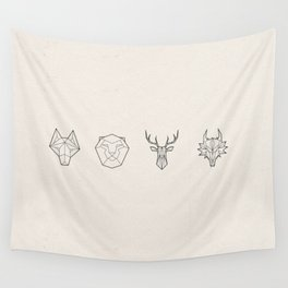 Animals of the Realm Wall Tapestry