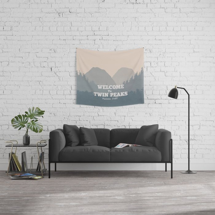 Welcome to Twin Peaks v2 Wall Tapestry
