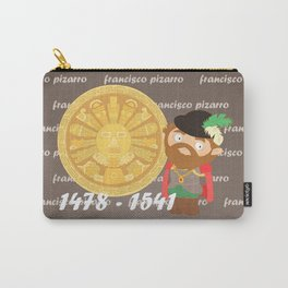 Francisco Pizarro Carry-All Pouch