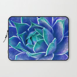 Suculenta Azul Laptop Sleeve