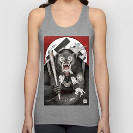 Inglourious Basterds (Quentin Tarantino) The Bear Jew Unisex Tank Top
