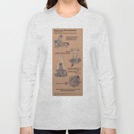 Stoats as Measurement Long Sleeve T-shirt