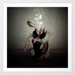 "The Poet ""Smoke"" Art Print"