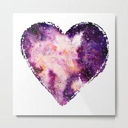 Galaxy Heart 02 Metal Print