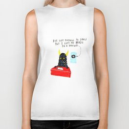 Silly Rhyme doodles  Biker Tank