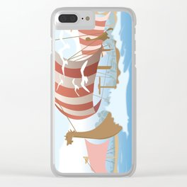 A Viking History No. 3 Clear iPhone Case