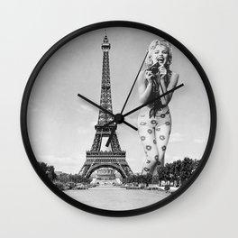 Queen Marilyn Wall Clock