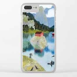 trollfjord Clear iPhone Case