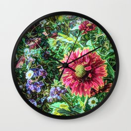 Flowers are not Forever  Wall Clock