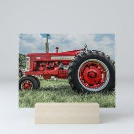 Vintage IH Farmall 450 Side View Mini Art Print