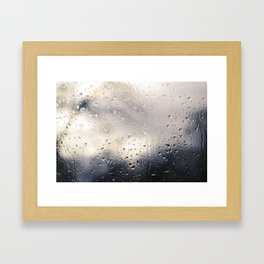 Rainy Evenings Framed Art Print