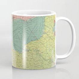 Vintage Map of The English Channel (1922) Coffee Mug