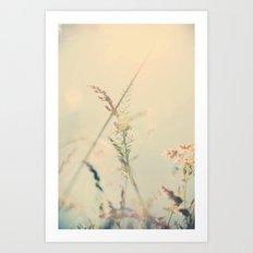 dreaming my life away ... Art Print